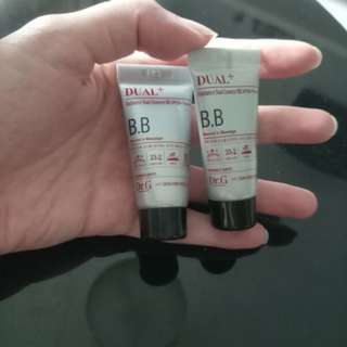 Dr.G radiance dual bb spf 50 sample