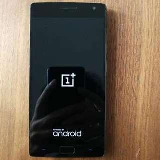 行貨Oneplus 2 手機 4gb+64gb,黑色