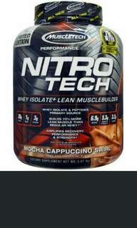 [ OFFER ]Nitro tech 4lbs Great tasting