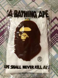 Kaos lengan panjang (long sleeve) BAPE JAPAN ORIGINAL