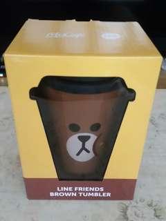 Line Friends 熊大隨行杯