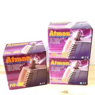 Atman PH-300 / 400 Water Pump for Aquarium Fish Tank