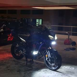 Yamaha MT09 Tracer 5 months old. TOURING READY