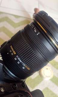 Sigma 17-50mm f2.8 for Nikon