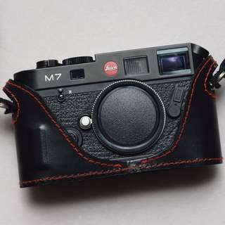 kamera rangefinder analog Leica M7 black body only mint