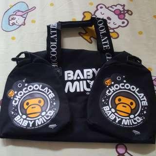 Chocoolate x Baby Milo Bag