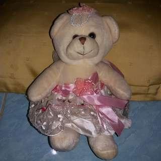 #MakinTebel boneka pengantin cewe