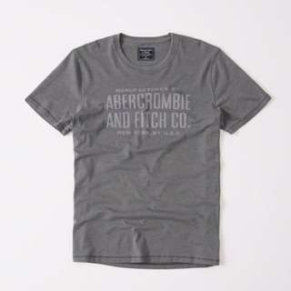 Abercrombie and Fitch Burnt Out Graphic Tee