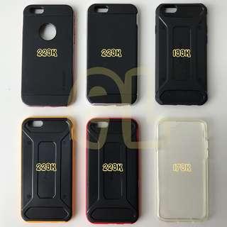 Original Casing Spigen iPhone 6/6s Neo Hybrid-Carbon-Metal