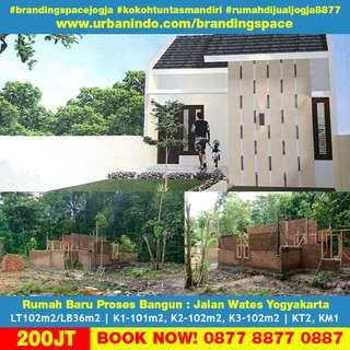 Rumah Baru Proses Bangun Jalan Wates Yogyakarta