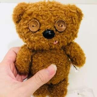 Universal studios Japan despicable me minions bob bear keychain