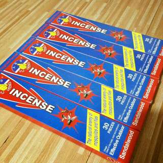 Sandalwood insect icense