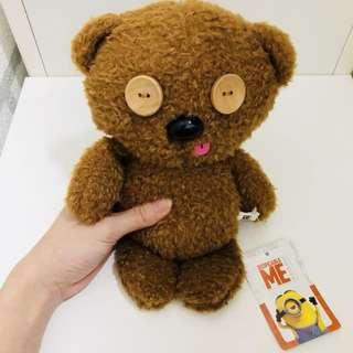 Universal studios Japan minions despicable me bob bear plush