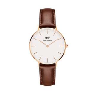 100% Original [SALES] Daniel Wellington Watch Classic Petite Collection St Mawes Rose Gold 28mm / 32mm White Face Free Delivery