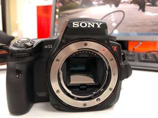 Sony SLT A-33 FULL SET