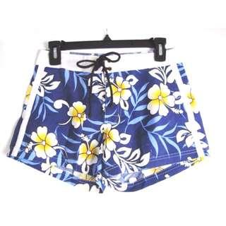 Bangkok Blue Floral Shorts