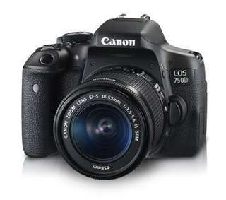 Canon EOS 750D Kit (EF-S18-55mm IS STM)