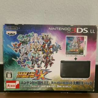 Nintendo 3ds LL Super Robot Wars UX edition