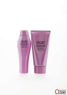 Shiseido The Hair Care Luminogenic Shampoo ans Treatment Colored  Hair