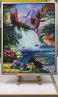 Oil Painting in stock
