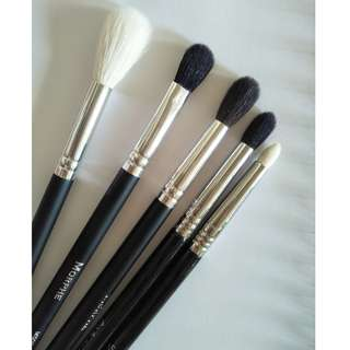 Free postage Morphe brushes in set