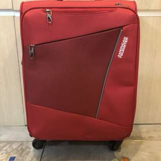 American Tourister(Red) Ht59cm Wd35cm
