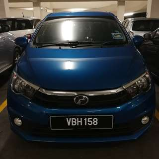 Perodua Bezza brand new for rent.utk di sewa
