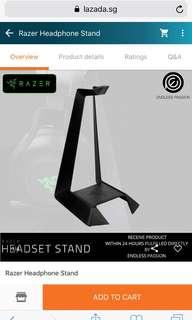 Razer headset stand