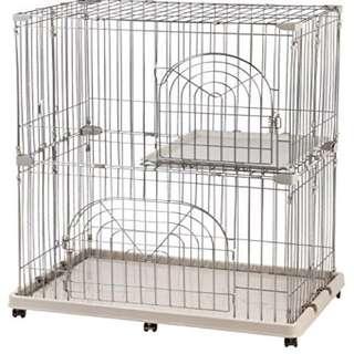 2 Tier Iris Cat Cage