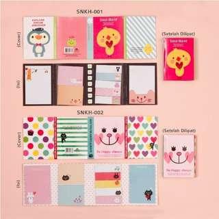 Korean Sticky Notes / Buku kecil