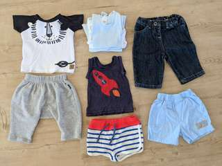 Baby Boys Bundle Size 000 (Bonds, Country Road, Disney Baby)
