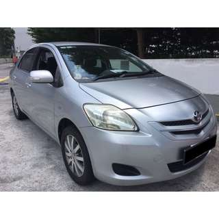 09/03-12/03/2018 TOYOTA VIOS (2ND GEN) ONLY $195.00 ( P PLATE WELCOME)