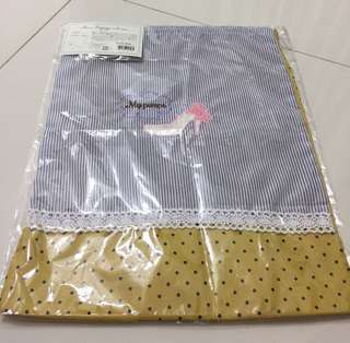 Brand New Embroidery Drawstring Pouch