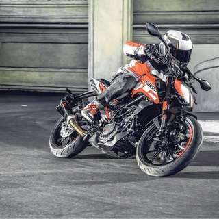 Brand New! KTM 2017 Duke 125 ABS