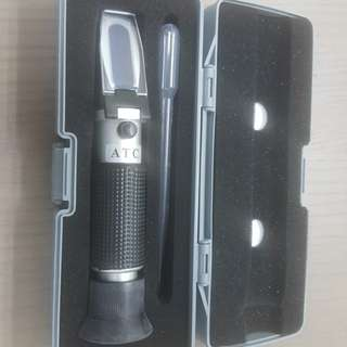 Refractometer for coolant