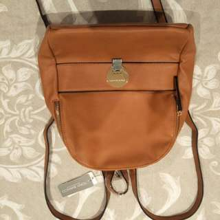 Tony Bianco Tan Backpack