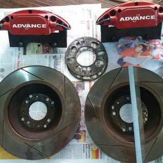 Advance 4 Pot Big Brake Kit