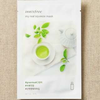 Innisfree Real Squeeze Mask