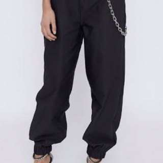 NEW I AM GIA BLACK COBAIN PANTS MEDIUM