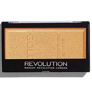 Makeup Revolution Gold Ingot Highlighter (PREORDER PO SPREE RESTOCKING)