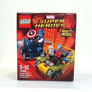 Lego Super Heroes Mighty Micros: Captain America Vs. Red Skull
