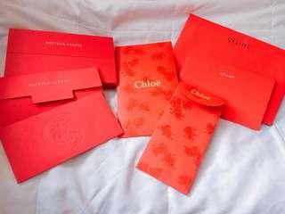 Celine, Chloe, BV名牌利是封 人情 red packet