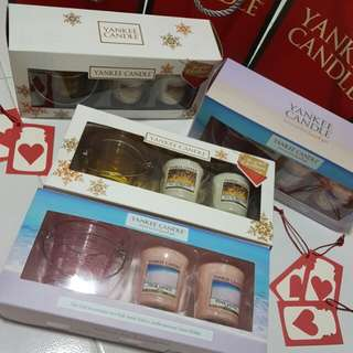 instock – Yankee candle gift sets
