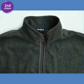 Jaket Uniqlo Dark Grey