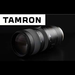 Tamron SP 70-200mm F2.8 Di VC USD G2 Lens