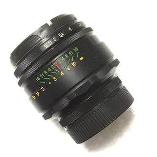 Helios 58mm F/2 44-2