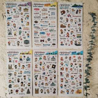 Korean Sticker #Bajet20