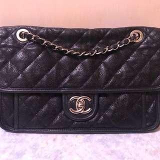 Chanel CC Logo 牛皮手袋