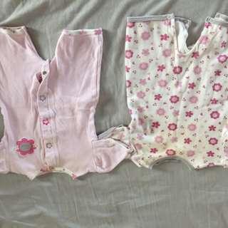 Rompers onsies USA pink 3-6 months