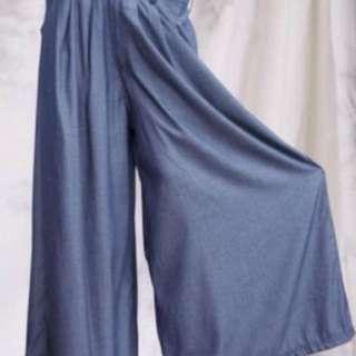 Soft Denim Flare Pants PLUS SIZE